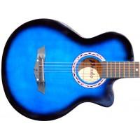 Гитара акустическая Prado синий бёрст