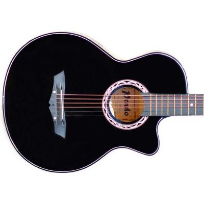 Гитара акустическая Prado чёрная