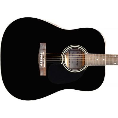 Гитара акустическая Caraya дредноут чёрная