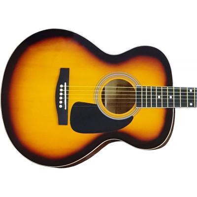 Гитара акустическая Colombo джамбо санбёрст