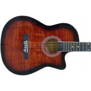 Гитара акустическая Colombo фолк санбёрст