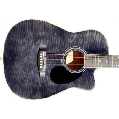 Гитара акустическая Colombo фолк чёрная