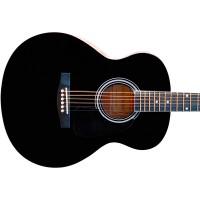 Гитара акустическая Colombo джамбо чёрная