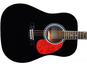 Гитара акустическая Naranda дредноут чёрная