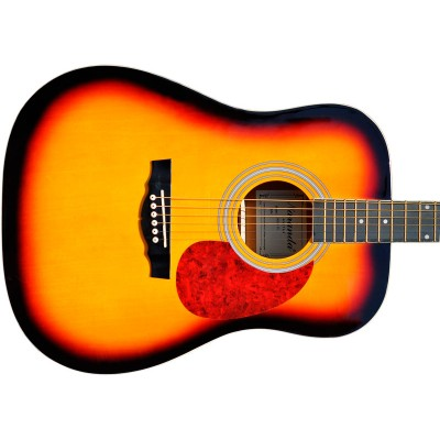 Гитара акустическая Naranda дредноут санбёрст