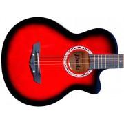 Гитара акустическая Prado бордовый бёрст