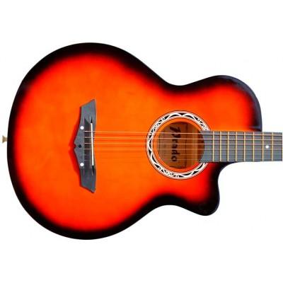 Гитара акустическая Prado коралловая