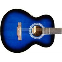 Гитара акустическая Emio джамбо синий бёрст