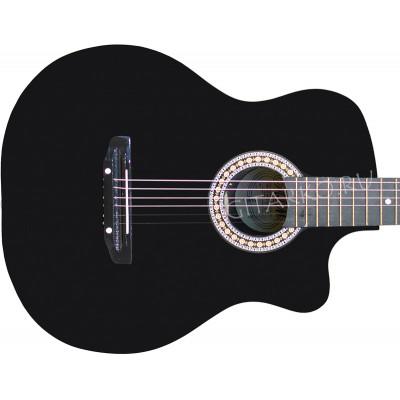 Гитара акустическая Тим 41 с мягким вырезом чёрная