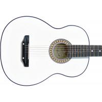Гитара акустическая Тим белая (Россия)