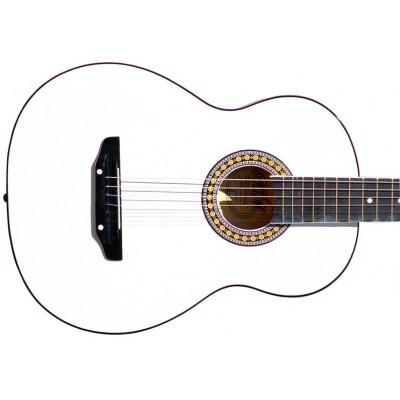 Гитара акустическая Тим 39 белая