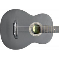 Гитара акустическая Тим 39 чёрная-матовая