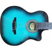 Гитара акустическая Тим 41 с мягким вырезом изумрудная