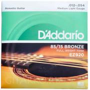 Струны металлические бронзовые 12 D'Addario