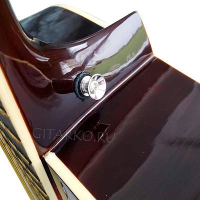Крепление ремня для гитары металлическое