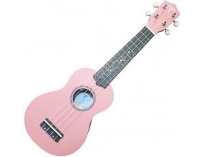 Укулеле сопрано Listen розовая матовая